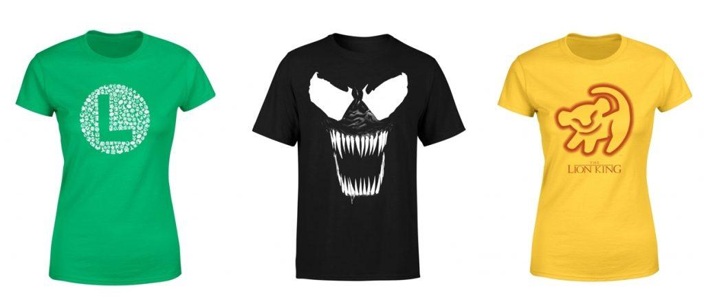Camisetas frikis en Zavvi