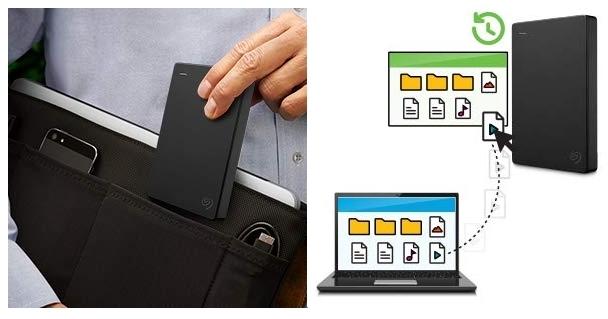 Disco duro portátil Seagate Expansion Edición Especial de 2 TB tamaño pequeño