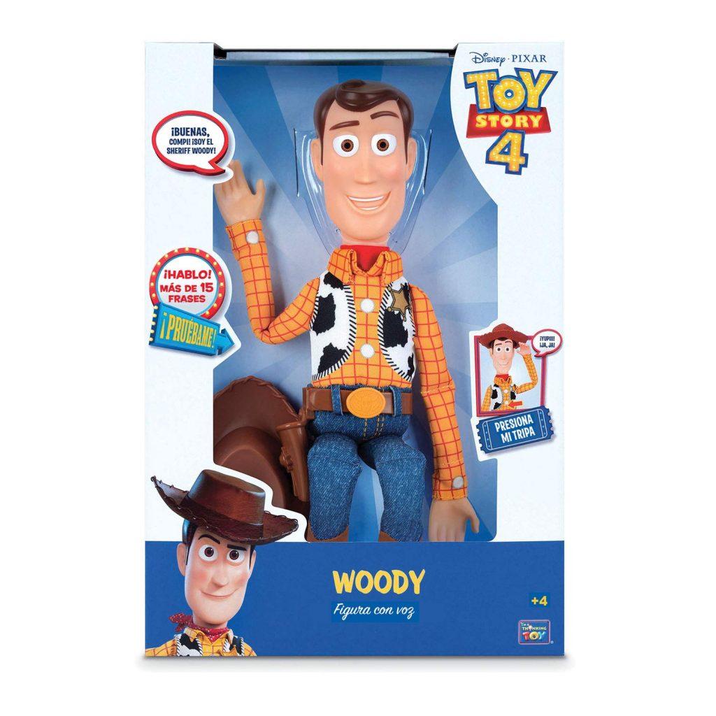 Figura de Woody Toy Story 4 de Bizak