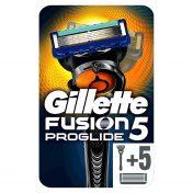 Pack maquinilla afeitar Gillette Fusion Proglide Flexball con 5 cabezales