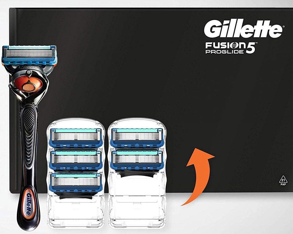 Pack maquinilla de afeitar Gillette Fusion Proglide Flexball con 5 cabezales