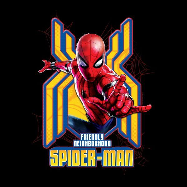 Camiseta Spider-Man Friendly Neighborhood