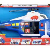 Helicóptero de rescate Dickie Toys, con luces y sonidos
