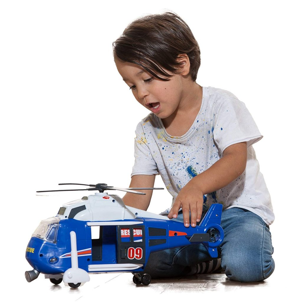 Helicóptero de rescate Dickie Toys tamaño grande