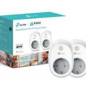 Pack dos enchufes inteligentes TP-Link HS100