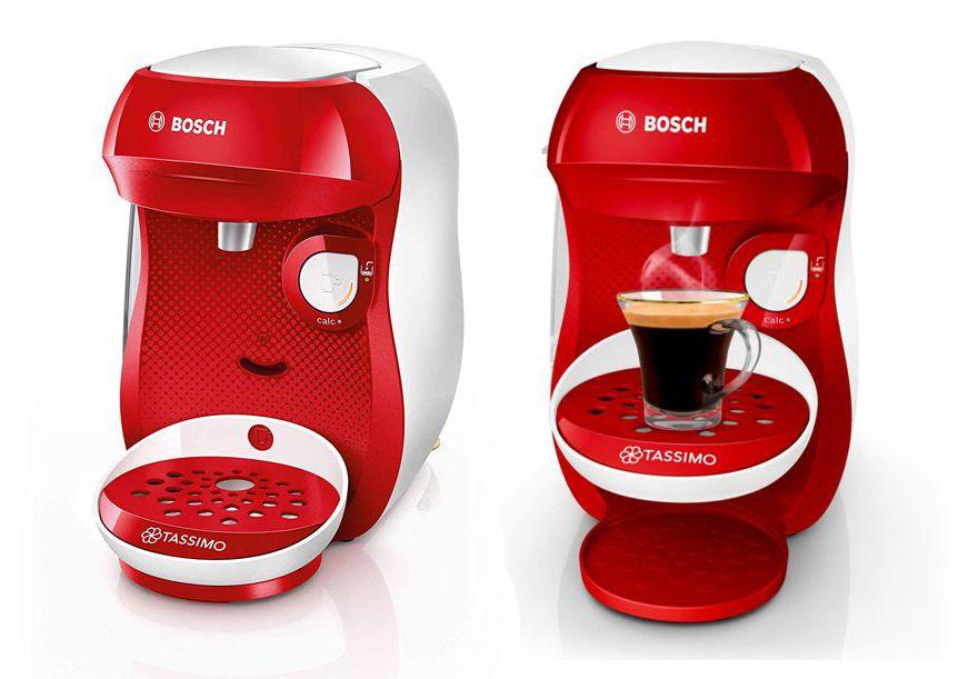 Cafetera Bosch Tassimo Happy rojo