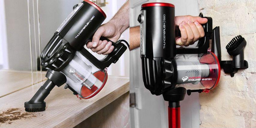 Cecotec ThunderBrush 520, se puede usar como aspirador de mano