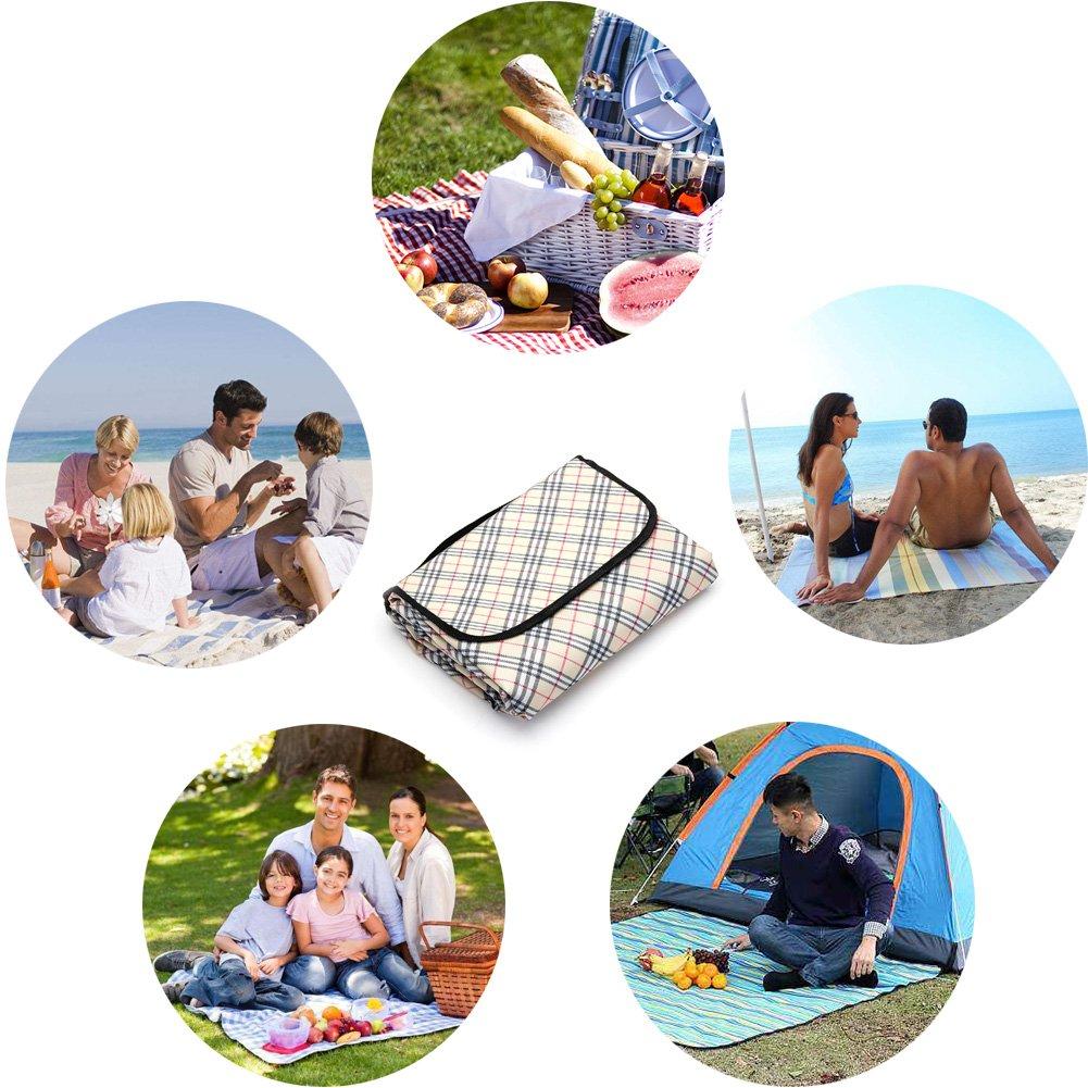Manta picnic XXL LIVEHITOP para el aire libre