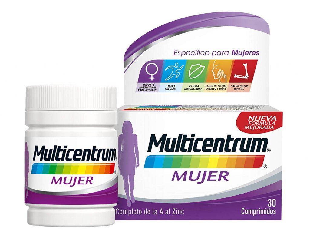Multicentrum envase de 30 comprimidos mujer