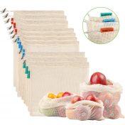 Pack 10 bolsas de malla reutilizables NEWSTYLE
