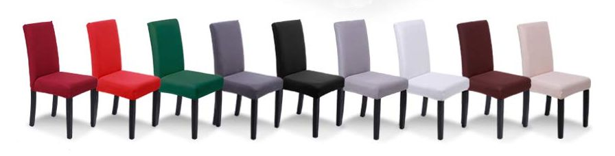 Pack 4 fundas para sillas SaintderG (varios colores)