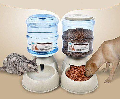 Comedero y bebedero automático mascotas YGJT