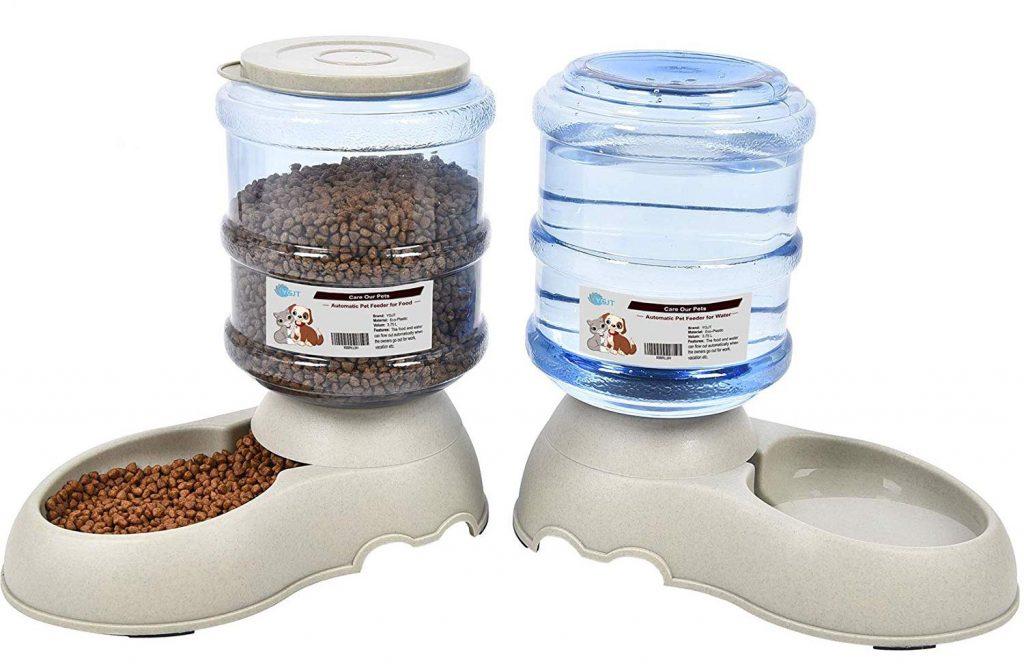 Comedero y bebedero automático para mascotas YGJT
