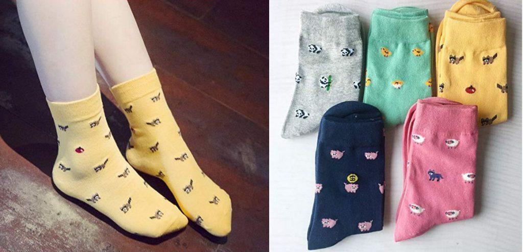 Pack 5 calcetines de animales Chalier