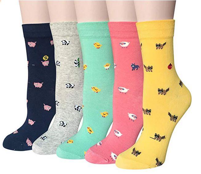 Pack de 5 calcetines de animales Chalier