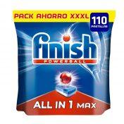 Pastillas para lavavajillas Finish todo en 1 Max