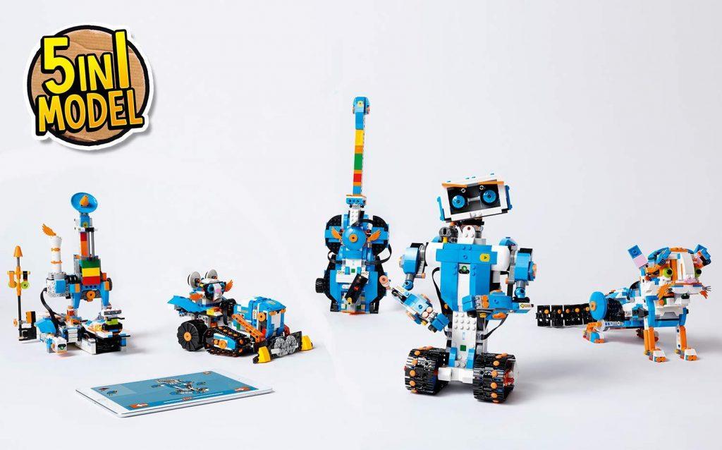 Caja de herramientas creativas LEGO BOOST 17101 5 modelos
