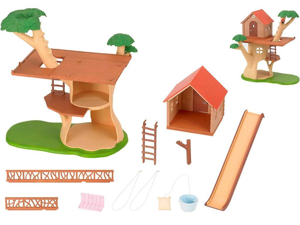 Casa árbol Sylvanian Families 4618 detalles