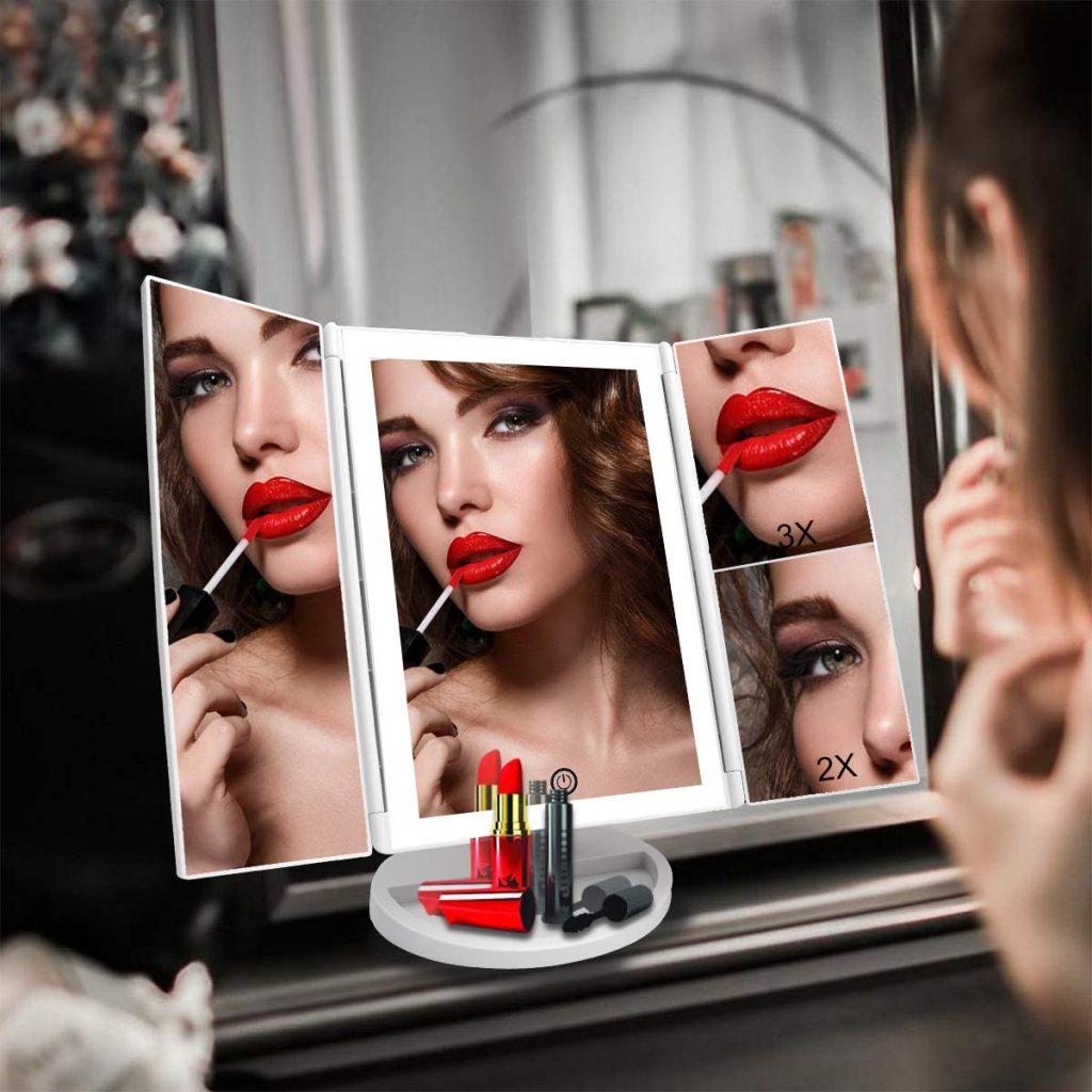 Espejo de maquillaje WEILY HF-B04