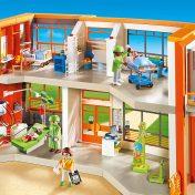 Hospital infantil Playmobil 6657 con dos plantas