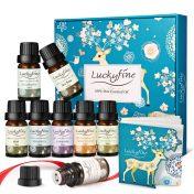 Pack 8 aceites esenciales Luckyfine