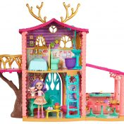 Supercasa del bosque y muñeca Danessa Enchantimals Mattel FRH50