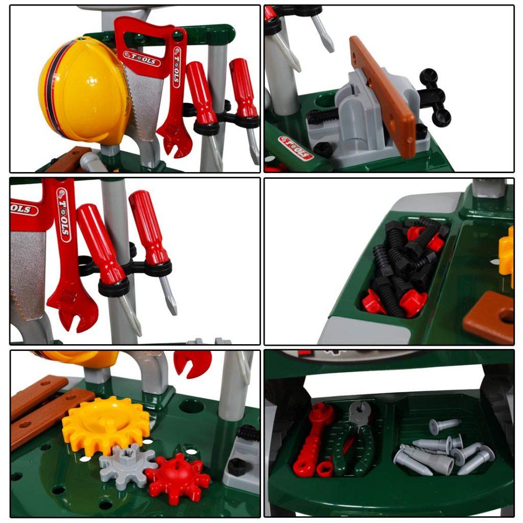Taller mecánico de juguete deAO detalles