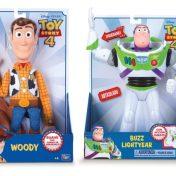 figura de Woody o la figura de Buzz Lightyear Toy Story 4