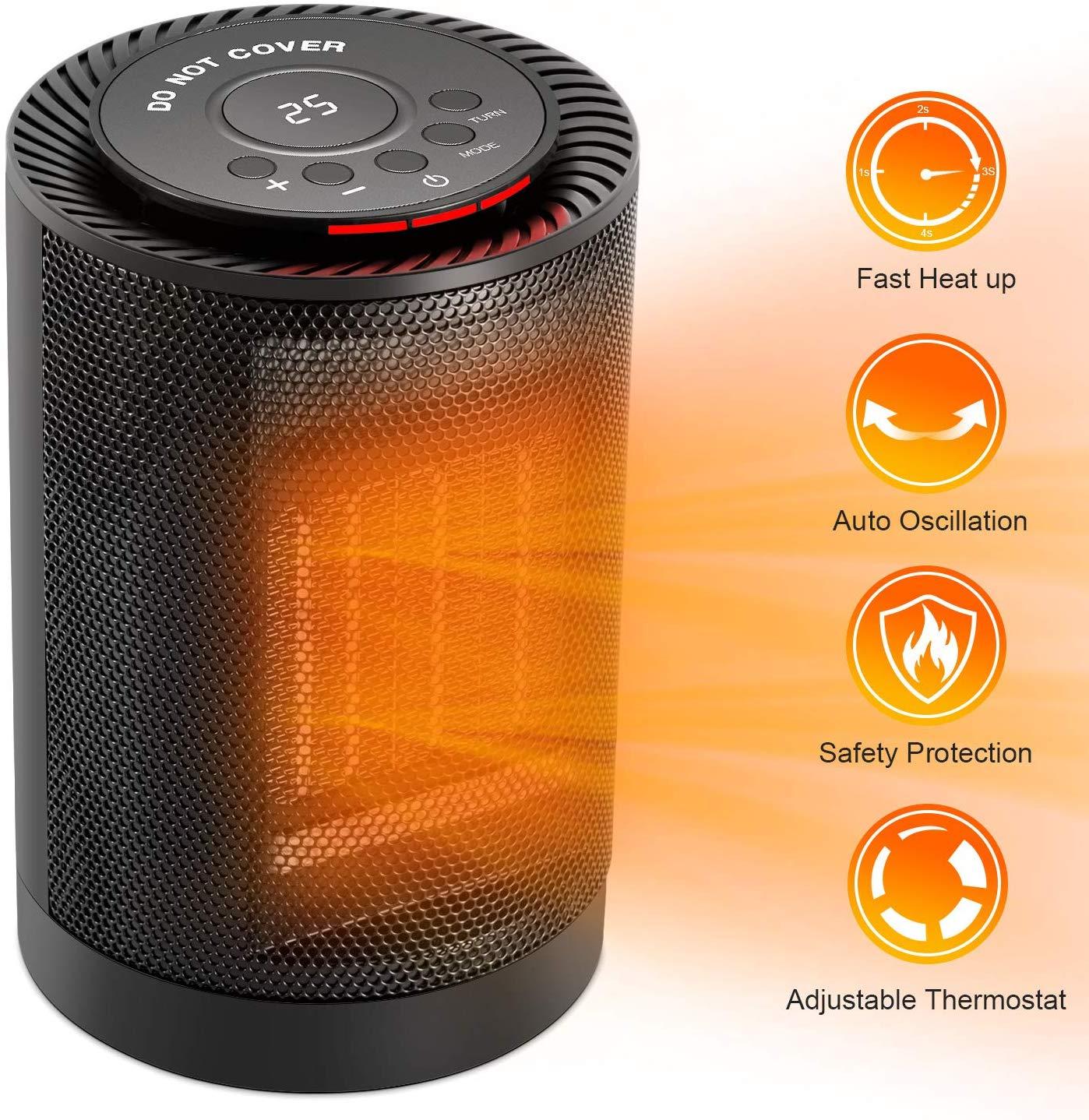 Calefactor eléctrico COMLIFE Ptc2018