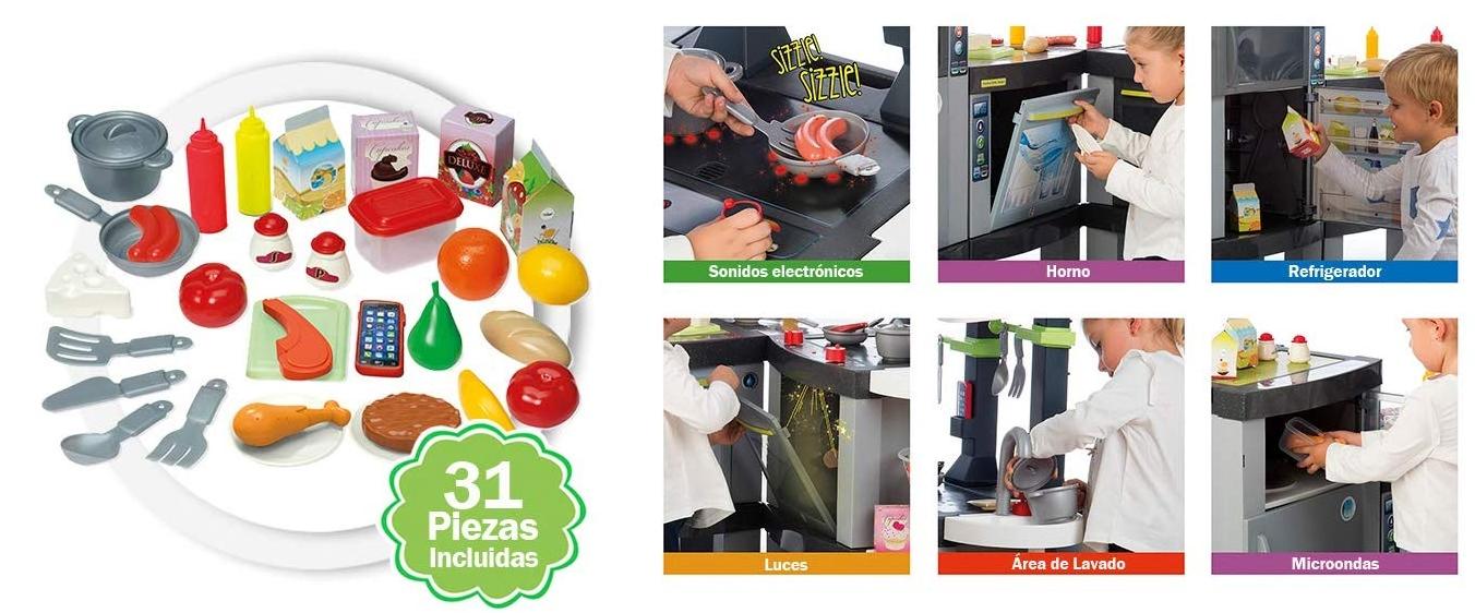 Cocina pequeño Chef Smart XXXL con varios accesorios