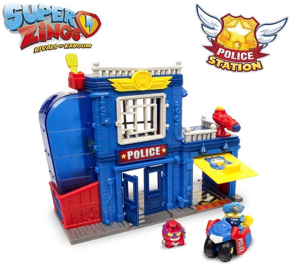 Estación de policía Superzings, juguete