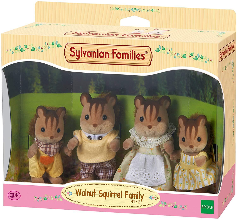 Familia Ardillas de la nuez Sylvanian Families 4172