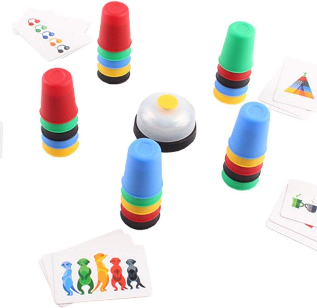 Juego de mesa Copas Locas de deAO Toys detalles