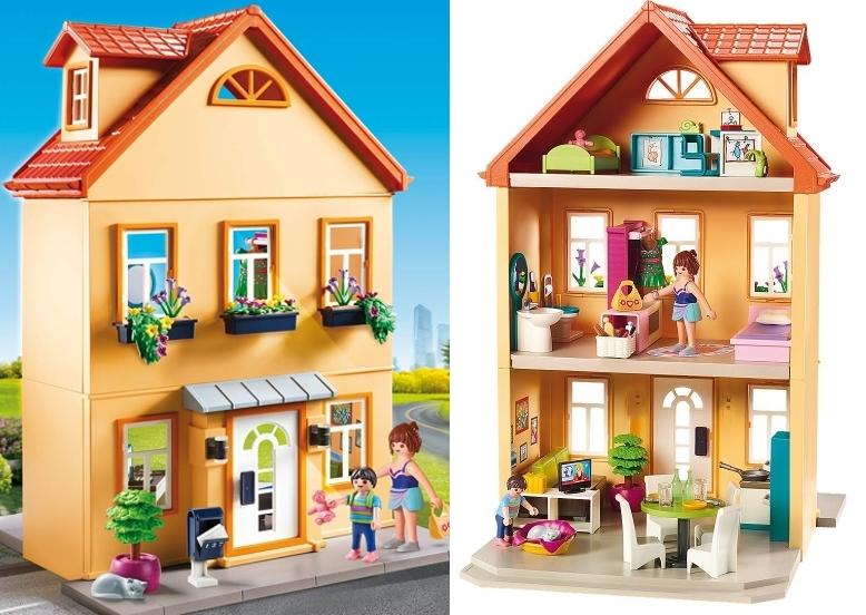 Mi casa de cuidad PLAYMOBIL City Life 70014 detalles