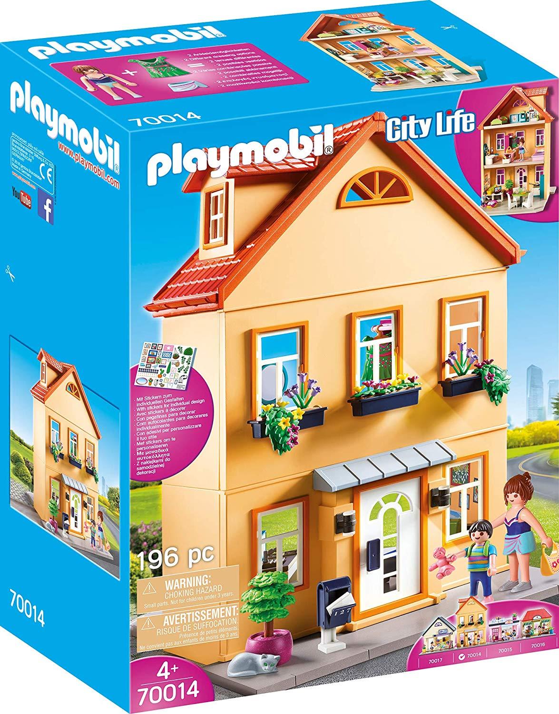 Mi casa de cuidad PLAYMOBIL City Life 70014