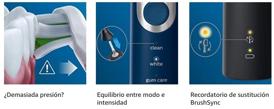Cepillo de dientes eléctrico Philips Sonicare ProtectiveClean 6100 HX6871 47 detalles