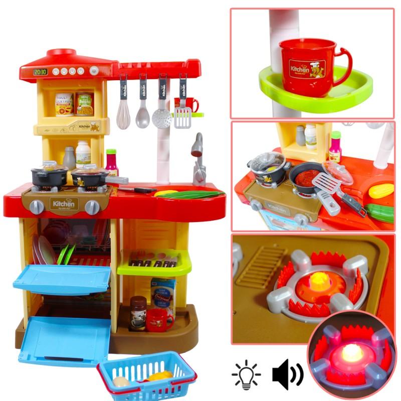 Cocina de juguete Mi Little Chef deAO KC2-R, detalles