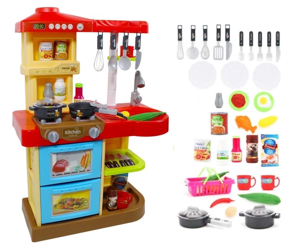 Cocina de juguete Mi Little Chef deAO KC2 con varios accesorios