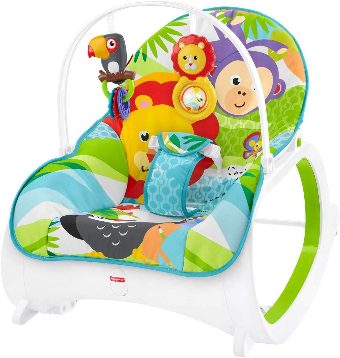 Hamaca crece conmigo Safari de Fisher Price FML56