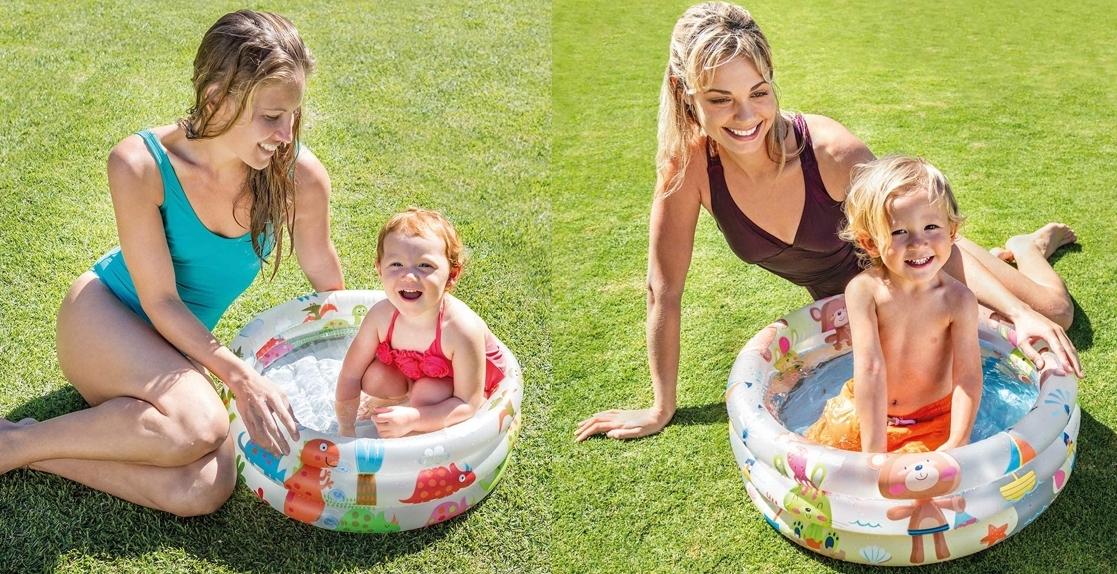 Piscina hinchable infantil Intex 57106NP, dos modelos