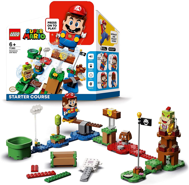 Pack inicial Aventuras con Mario, LEGO Super Mario 71360