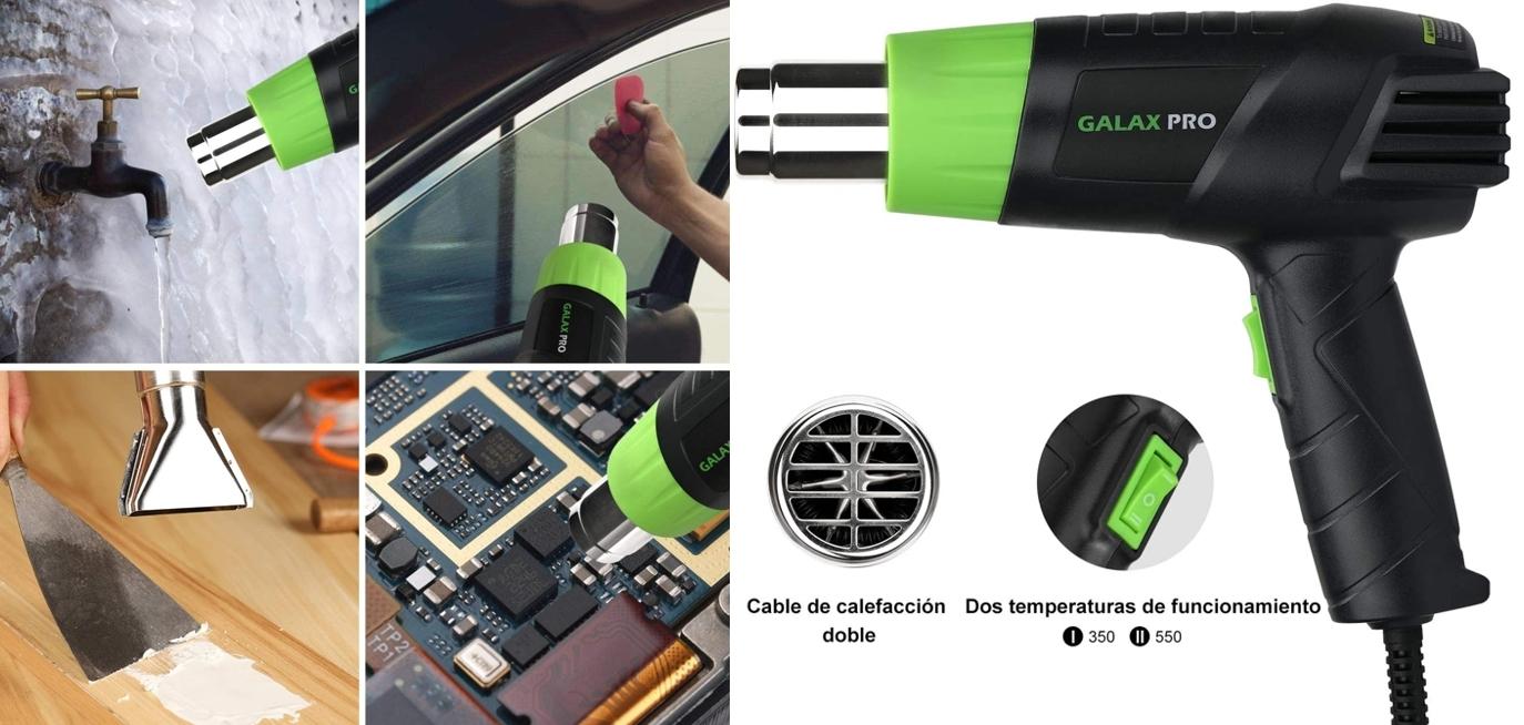 Pistola de aire caliente GALAX PRO detalles