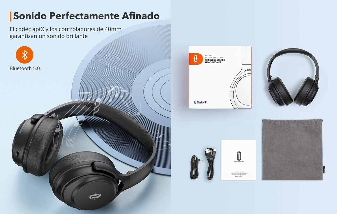 Auriculares Bluetooth TaoTronics TT-BH085 detalles