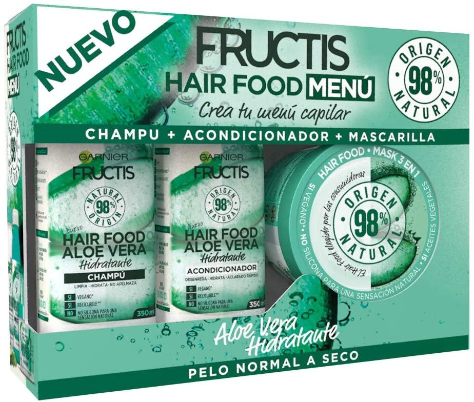 Pack Garnier Fructis Hair Food Aloe Vera